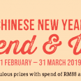 Jamaica Blue Chinese New Year Spend & Win