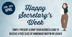 Happy Secretary Week!